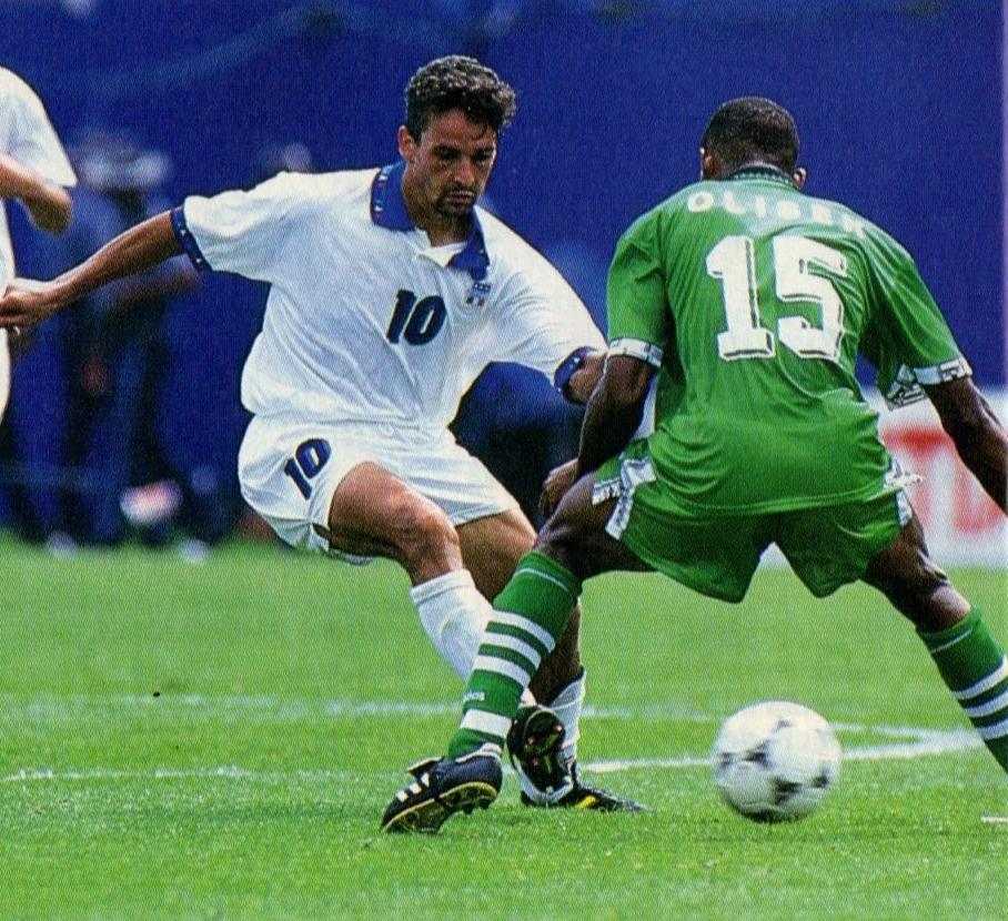 """Όταν ο Baggio """"έκοβε τα φτερά"""" της Νιγηρίας"""