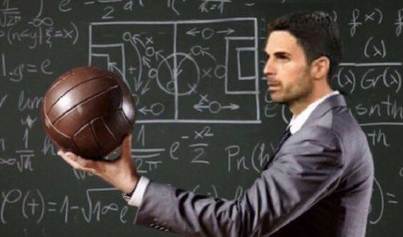 Μεγάλο ποδοσφαιρικό μυαλό ο Μίκελ Αρτέτα.