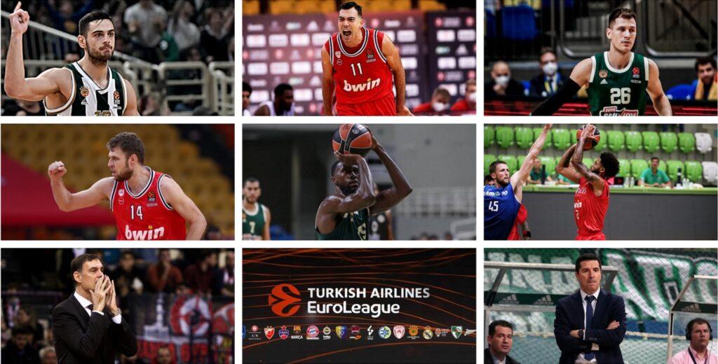 Euroleague 2021: Ολυμπιακός οκτάδας – Παναθηναϊκός ερωτηματικό!